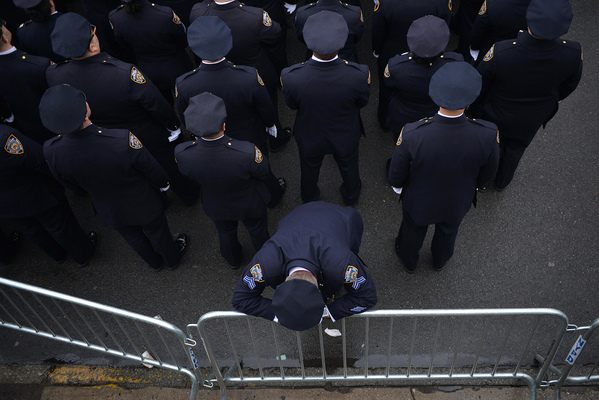Funeral for NYPD Officer Wenjian Liu